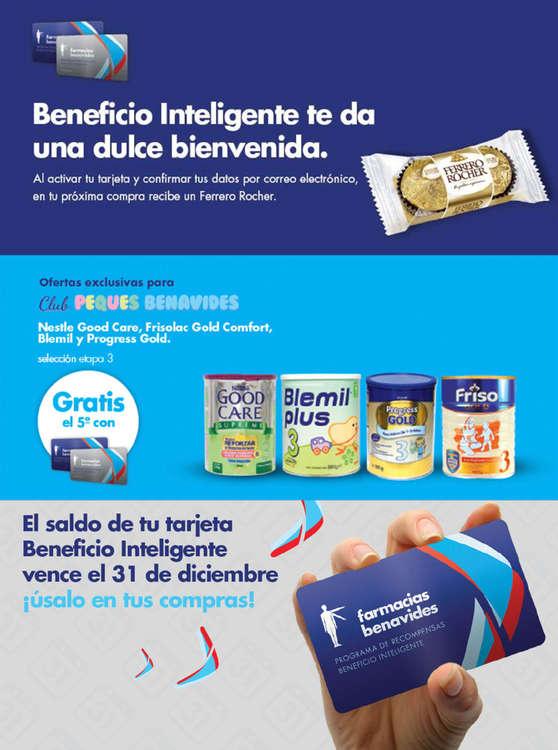 Ofertas de Farmacias Benavides, Beneficios