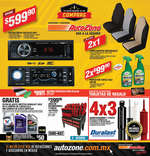 Ofertas de AutoZone, Tu auto quiere ir de compras