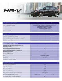 Ficha técnica Honda HRV