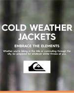 Ofertas de Quiksilver, Cold weather jackets