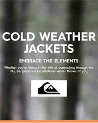 Cold weather jackets