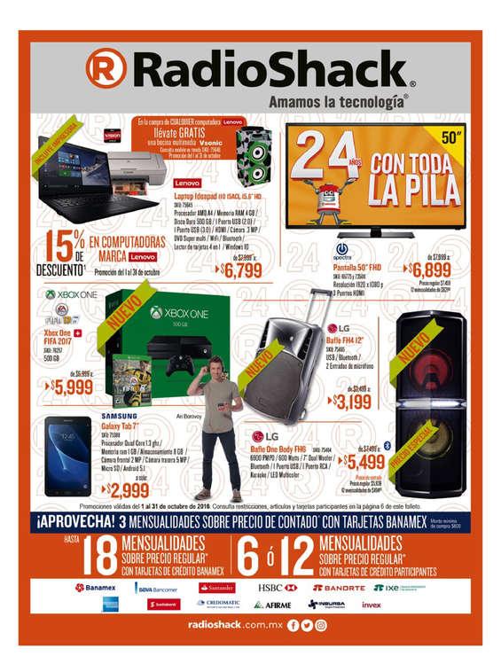 Ofertas de Radio Shack, Octubre