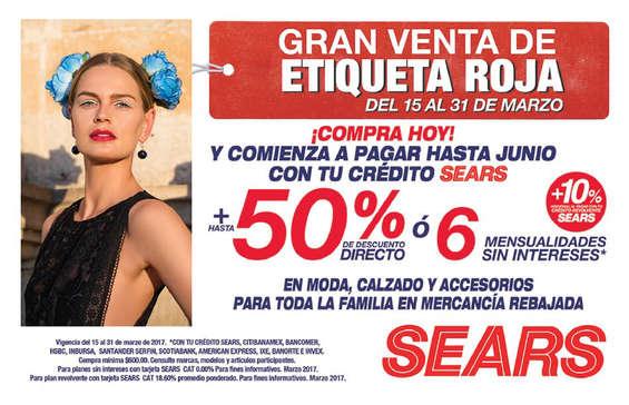 Ofertas de Sears, Etiqueta roja