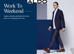 Ofertas de Aldo, Work to Weekend