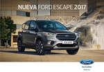 Ofertas de Ford, escape 2017