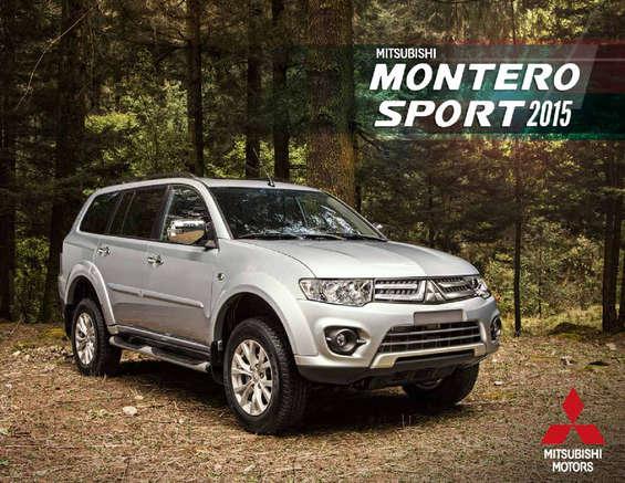 Ofertas de Mitsubishi Motors, Montero Sport 2016