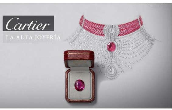Ofertas de Cartier, Cartier joyería
