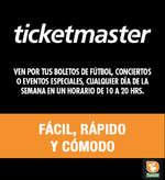 Ofertas de Comercial Mexicana, Ticketmaster