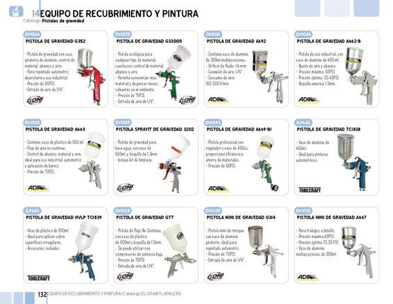 Ofertas de El Gran Tlapalero, Catálogo general Tlapalero