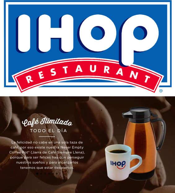 Ofertas de Ihop, Cafe Ilimitado
