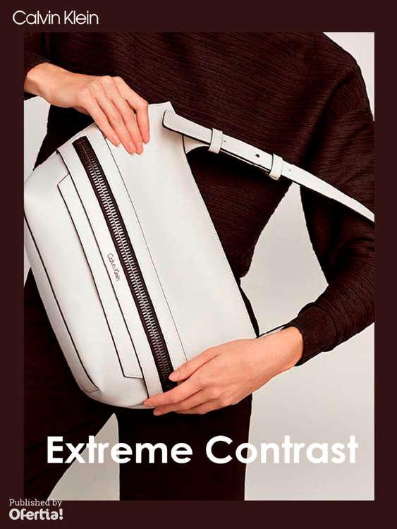 Ofertas de Calvin Klein, Extreme Contrast