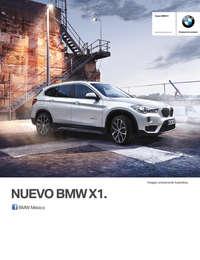 Ficha Técnica BMW X1 sDrive20iA M Sport Automático 2017
