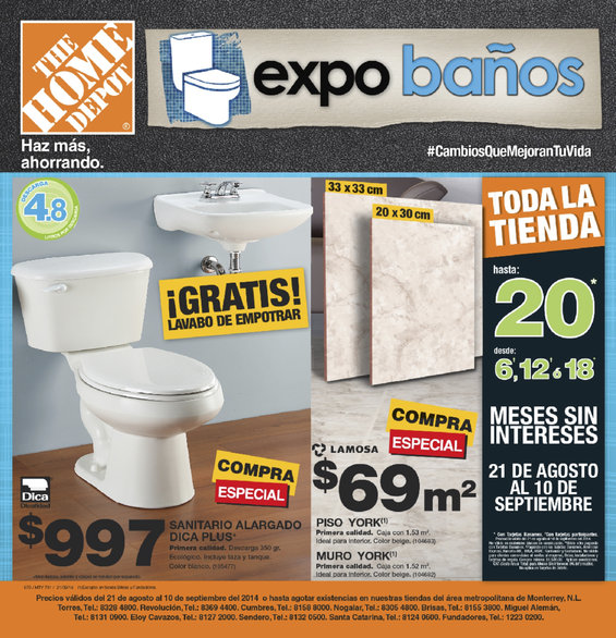 The Home Depot C Rdoba Cat Logos Ofertas Y Promociones