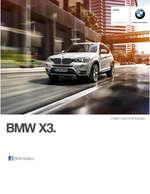 Ofertas de BMW, Ficha Técnica X3 Sport