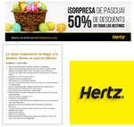 Ofertas de Hertz, Promo pascua