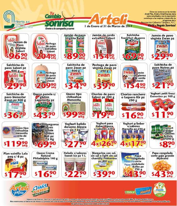 Ofertas de Arteli Más, Folleto quincenal