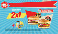 Burgers al 2x1