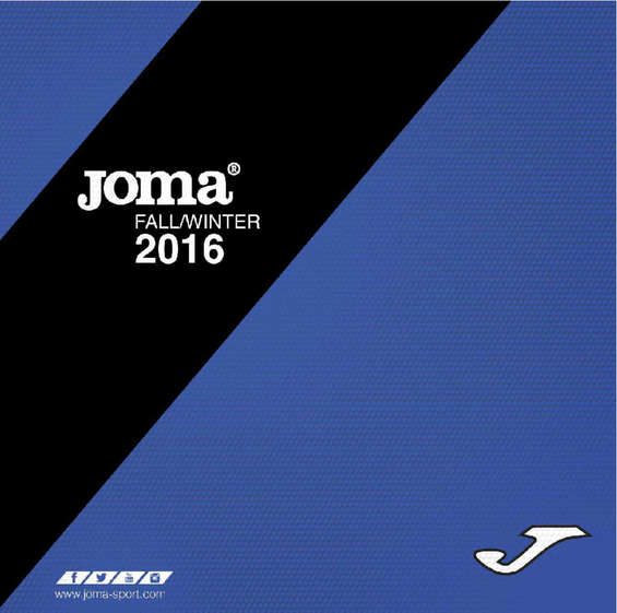 Ofertas de Joma Sport, Fall/Winter 2016