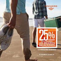 25% de descuento. Las mejores vacaciones