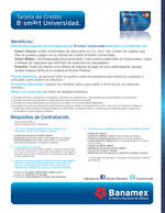 Ofertas de Banamex, B Smart Universitario