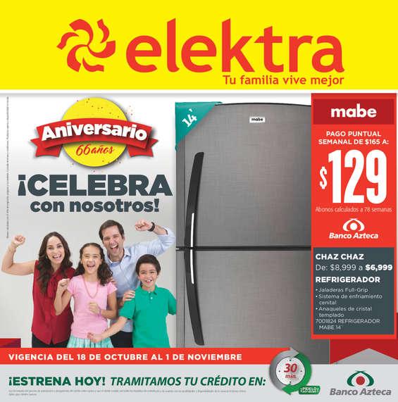 Ofertas de Elektra, !Celebra con nosotros!