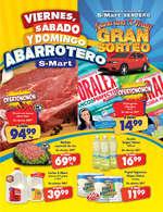 Ofertas de S-Mart, Viernes, Sábado y Domingo Abarrotero Sendero