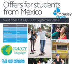 Ofertas de Enjoy Languages, Offers for Studentes from Mexico
