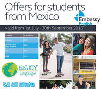 Offers for Studentes from Mexico