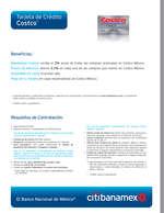 Ofertas de Citibanamex, Tarjeta de crédito costco
