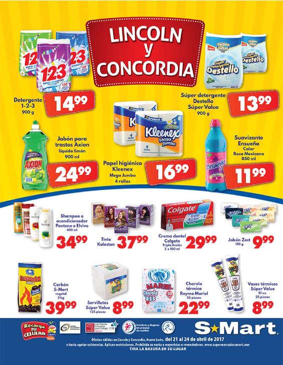 Ofertas de S-Mart, Viernes, Sábado y Domingo Abarrotero Lincoln y Concordia