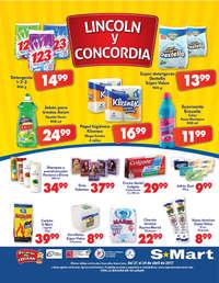 Viernes, Sábado y Domingo Abarrotero Lincoln y Concordia
