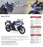 Ofertas de Yamaha, Deportivas Nueva YZF R3