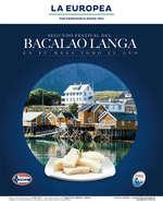 Ofertas de La Europea, Segundo festival del bacalao Langa