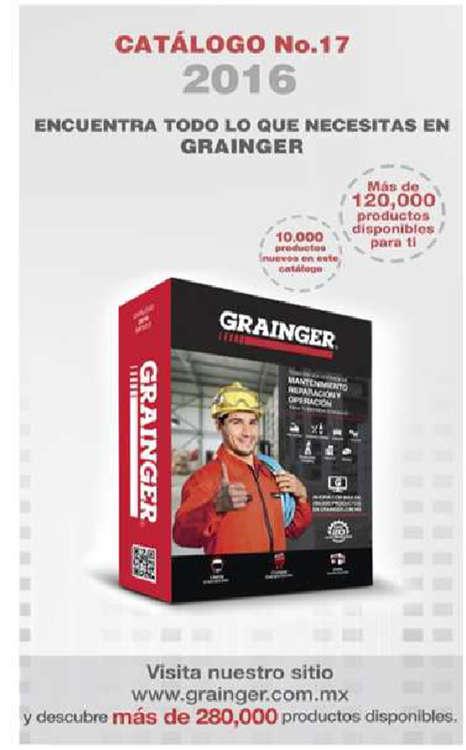 Ofertas de Grainger, Guía de uso catálogo 2016