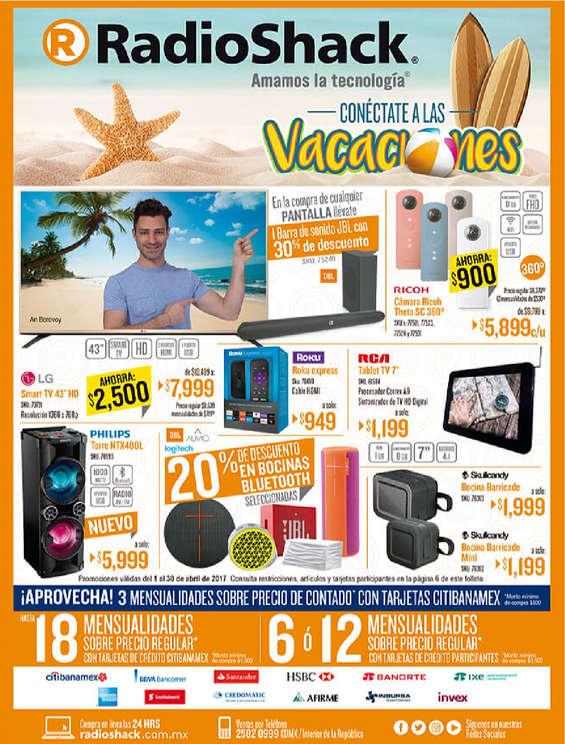 Ofertas de Radio Shack, Conéctate a las vacaciones