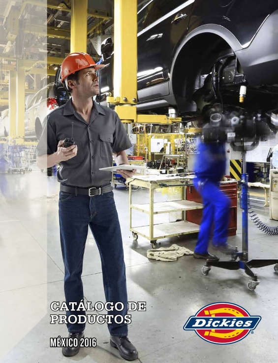 Ofertas de Dickies, Catalogo de Productos 2016