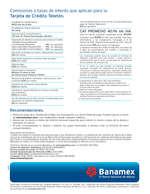 Ofertas de Banamex, Tarjeta Teleton