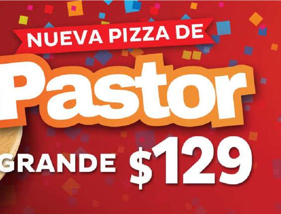 Ofertas de Pizzalianni's Express, Nueva Pizza de Pastor
