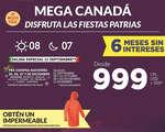 Ofertas de Mega Travel, Mega Canadá