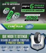 Ofertas de Tyre Plus, Una promo que te interesa