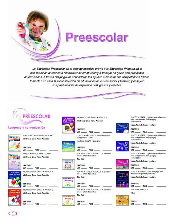 Ofertas de Editorial Trillas, Catálogo General