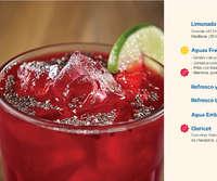 Menú Bebidas