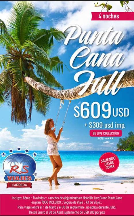 Ofertas de RS Viajes, Viaje a Punta Cana