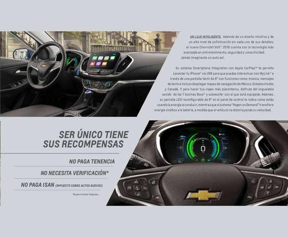 Ofertas de Chevrolet, Volt 2016