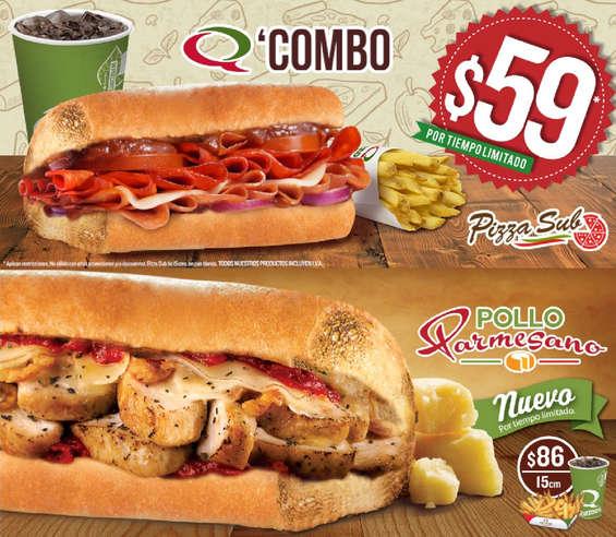 Ofertas de Quiznos Sub, Promociones