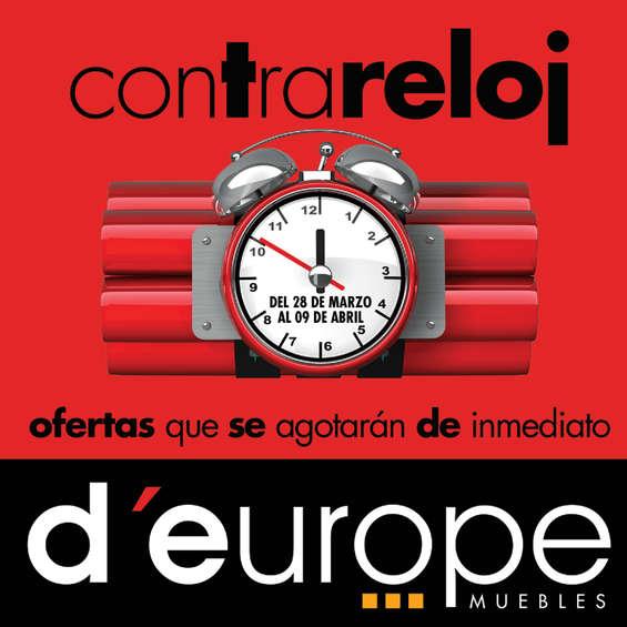 Ofertas de D'Europe, Catálogo Contrareloj