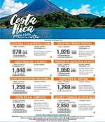 Ofertas de Excel Tours, Costa Rica