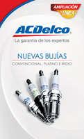 Ofertas de ACDelco, Nuevas bujías