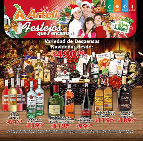 Ofertas de Arteli, Festejos que encantan