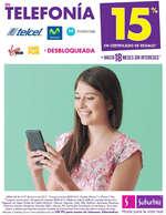 Ofertas de Suburbia, En Telefonía 15% en certificado de regalo